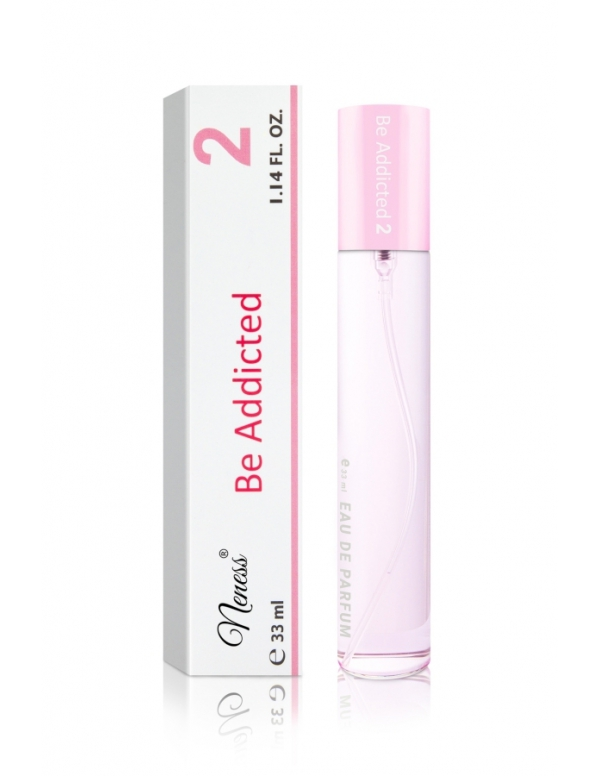 Neness Perfumes: Be Addicted 2: Fragrance for Women (Inspired by Dior Addict) - 33ml Women's perfumes inspired by Dior fragrance